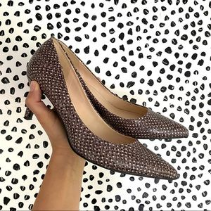Nine West Evermoreo patterned pump heels Size 7.5